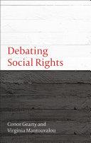 Debating Social Rights