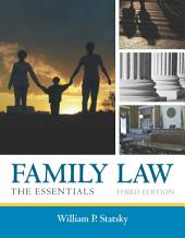 Family Law: The Essentials: Edition 3