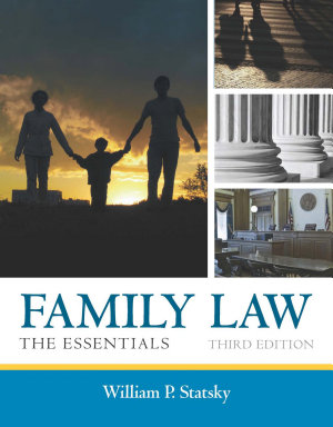 Family Law  The Essentials PDF
