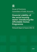 Financial Viability of the Social Housing Sector
