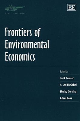 Frontiers of Environmental Economics PDF