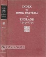 Index to Book Reviews in England  1749 1774 PDF
