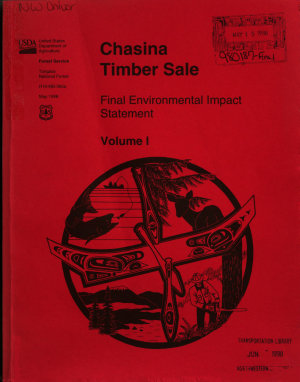 Tongass National Forest  N F    Chasina Timber Sale