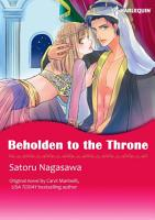 BEHOLDEN TO THE THRONE Colored Version  PDF