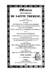 Oeuvres très complètes de Thérèse de Jésus: suivie de lettres inédites, de méditations sur ses vertus par le Card. Lambruchini