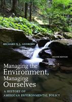 Managing the Environment  Managing Ourselves PDF