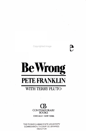 You Could Argue But You d be Wrong PDF