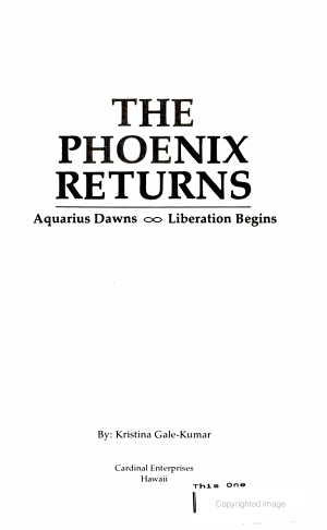 The Phoenix Returns