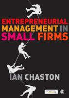 Entrepreneurial Management in Small Firms PDF