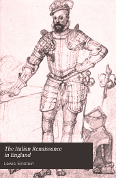 The Italian Renaissance in England: studies