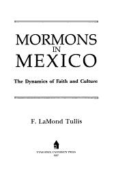 Mormons in Mexico PDF