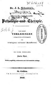 Allgemeine und specielle Pathologie und Therapie: Band 2