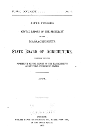 Annual Report of the Secretary: Volume 54, Part 1906