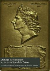 Bulletin d'archéologie et de statistique de la Drôme: Volume19