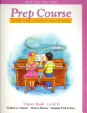 Alfred's Basic Piano Prep Course Theory