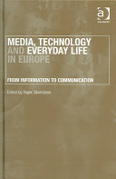 Media, Technology and Everyday Life in Europe