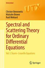 Spectral and Scattering Theory for Ordinary Differential Equations