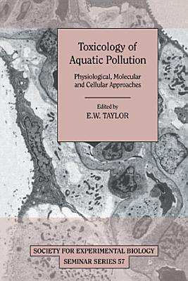 Toxicology of Aquatic Pollution PDF