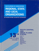 Encyclopedia of Associations  Regional  State and Local Organizations PDF