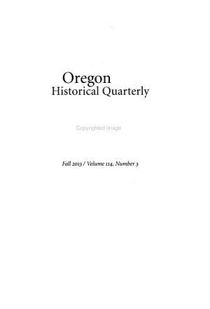 Oregon Historical Quarterly