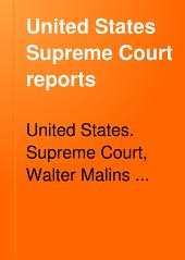 United States Supreme Court Reports: Volumes 139-142