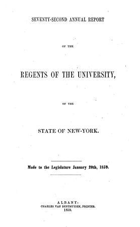 Report of the Regents PDF