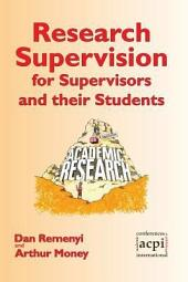 Research Supervision for Supervisors and Their Students: 2nd Edition