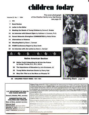 Children Today PDF