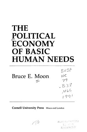 The Political Economy of Basic Human Needs