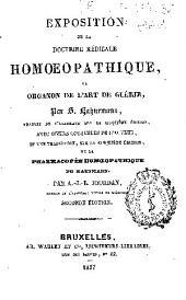 Exposition de la doctrine médicale homoepathique, ou organon de l'art de guérir