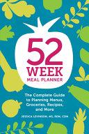 52 Week Meal Planner PDF