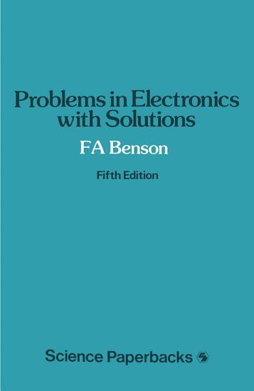 Problems in Electronics with Solutions PDF