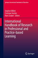 International Handbook of Research in Professional and Practice based Learning PDF