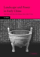 Landscape and Power in Early China PDF
