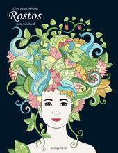 Livro para Colorir de Rostos para Adultos 2
