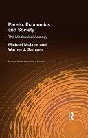 Pareto, Economics and Society