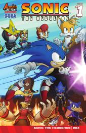Sonic the Hedgehog #284: Panic in The Sky Part 4 of 4