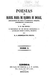 Poesias: Volume 1