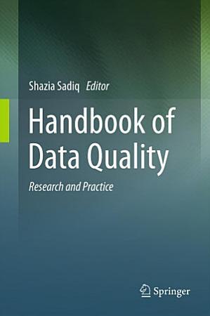 Handbook of Data Quality PDF
