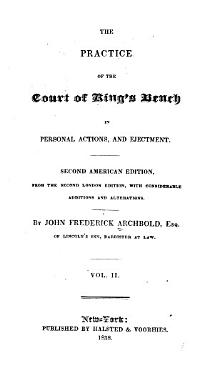 The Practice of the Court of King s Bench in Personal Actions  and Ejectment PDF
