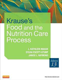 Krause s Food   the Nutrition Care Process Book