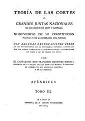 Teoría de las Cortes: Volumen 3