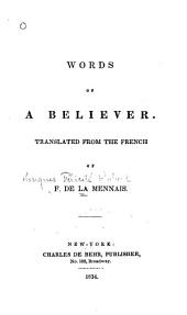 Words of a Believer