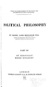 Political Philosophy: Volume 3