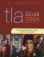 TLA Video   DVD Guide 2004 PDF