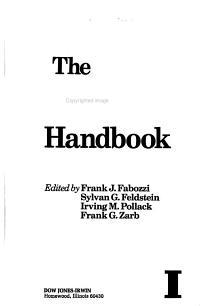 The Municipal Bond Handbook PDF