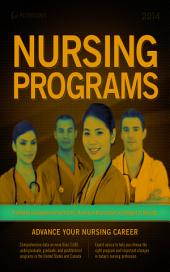 Nursing Programs 2014: Edition 19