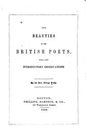 Beauties of the British poets ...