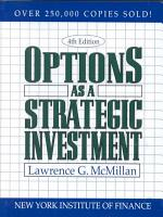 Options as a Strategic Investment PDF