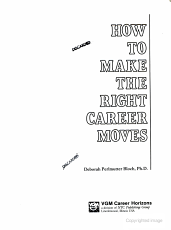 How to make the right career moves PDF
